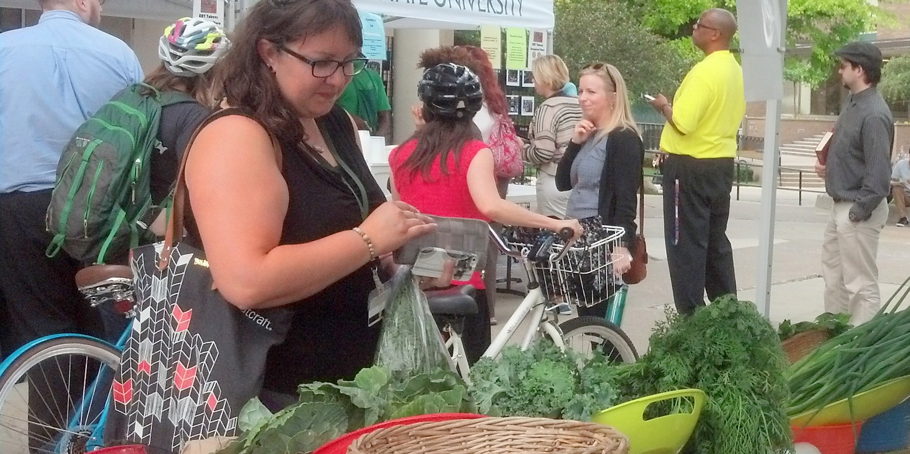WSU Farmers Market\'s 9th year kicks off!