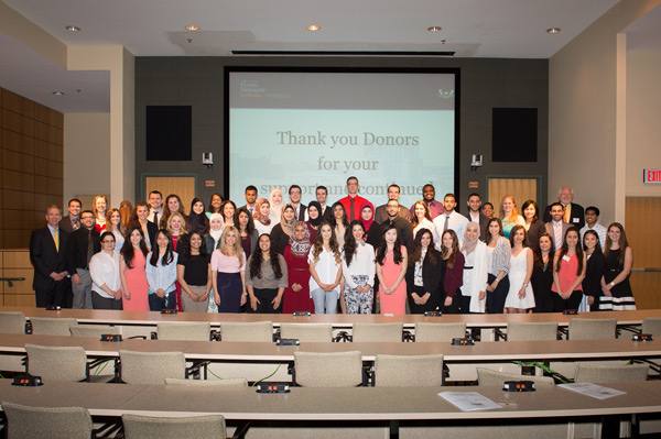 Annual Donors and Scholars Luncheon focuses on the gift of giving
