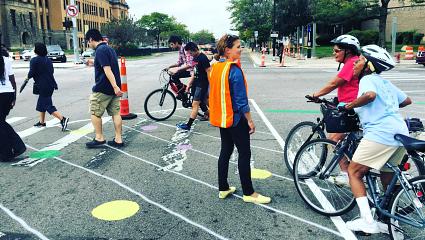 Activating campus to improve community