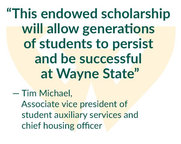 Wayne State, Corvias establish $1M scholarship