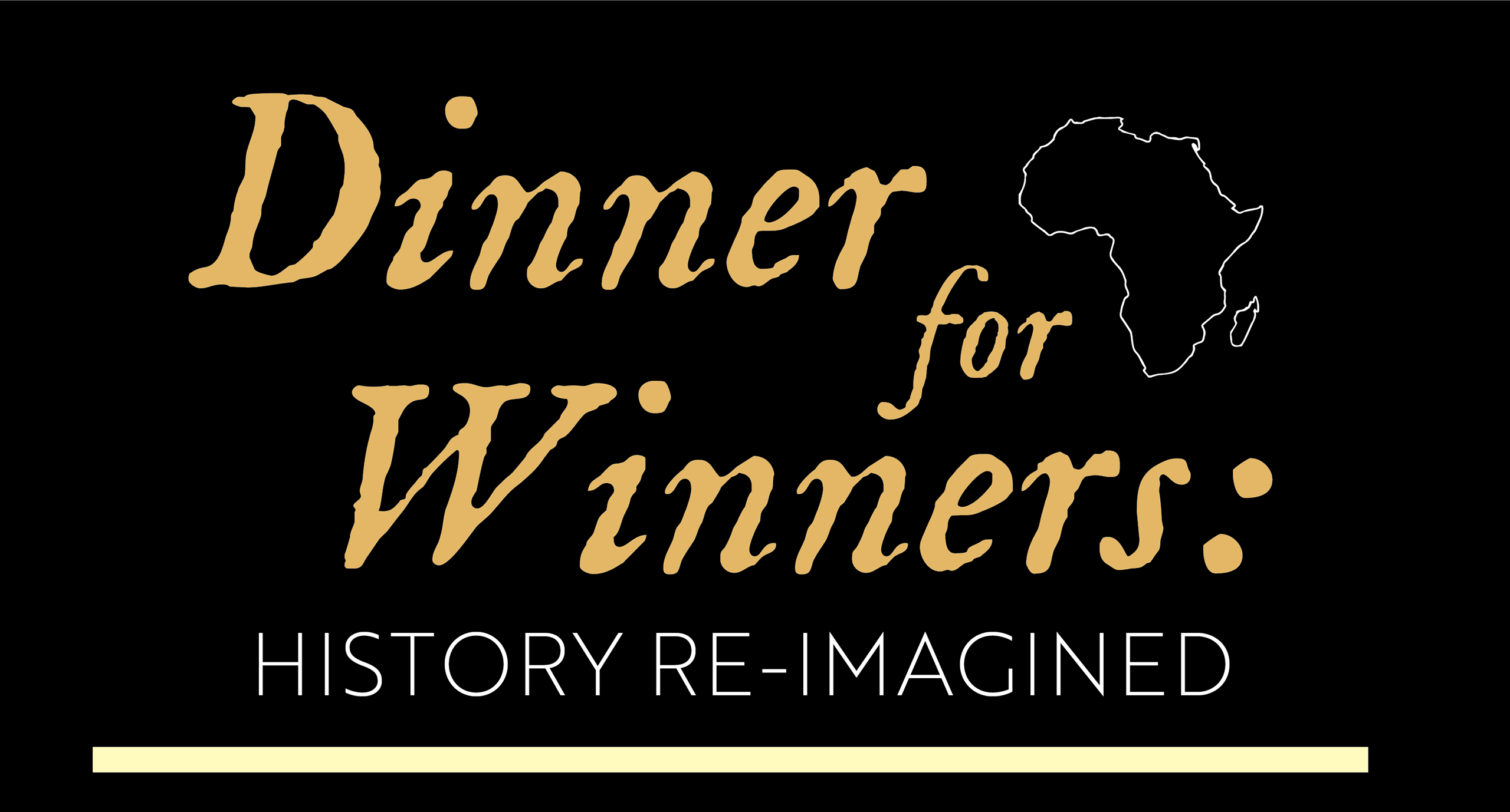 "African American students sponsoring ""Dinner for Winners"" celebration for Black History Month"