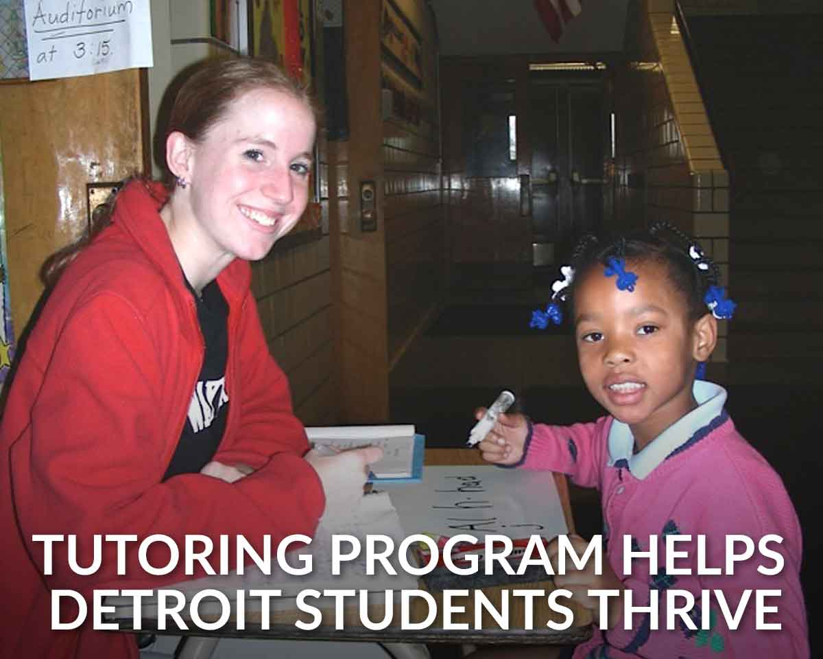 Good fellows: How the Detroit Fellows Tutoring Project still empowers local schoolchildren after 15 years