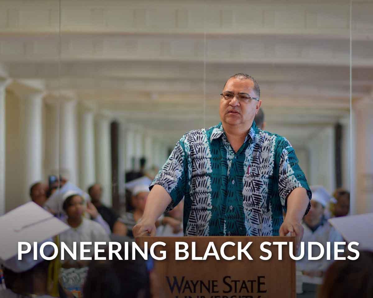Ollie Johnson leads new Wayne State campaign honoring half-century of African American Studies
