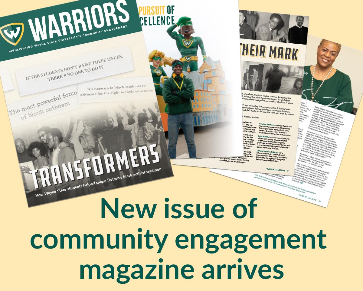 New issue of Warriors magazine available