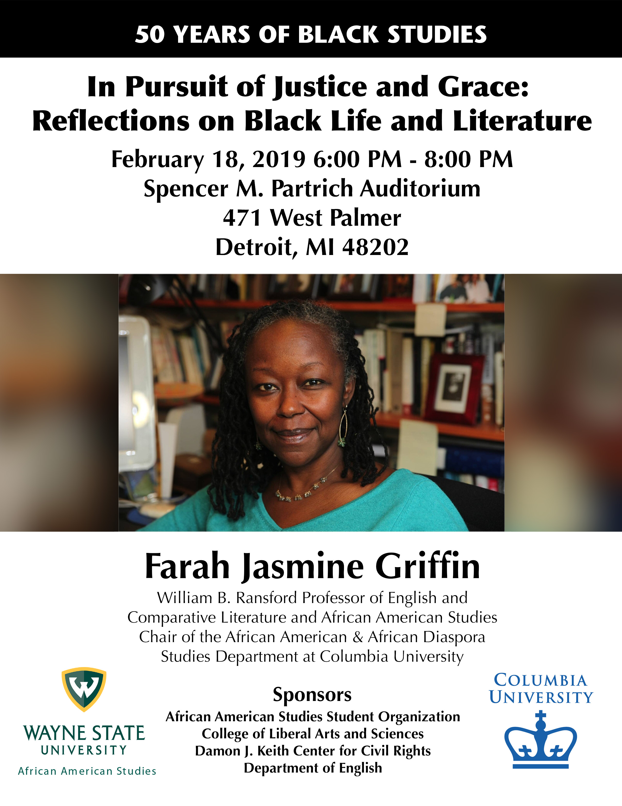 In Pursuit of Justice and Grace: Reflections on Black Life and Literature