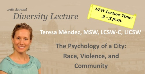 School of Social Work Diversity Lecture