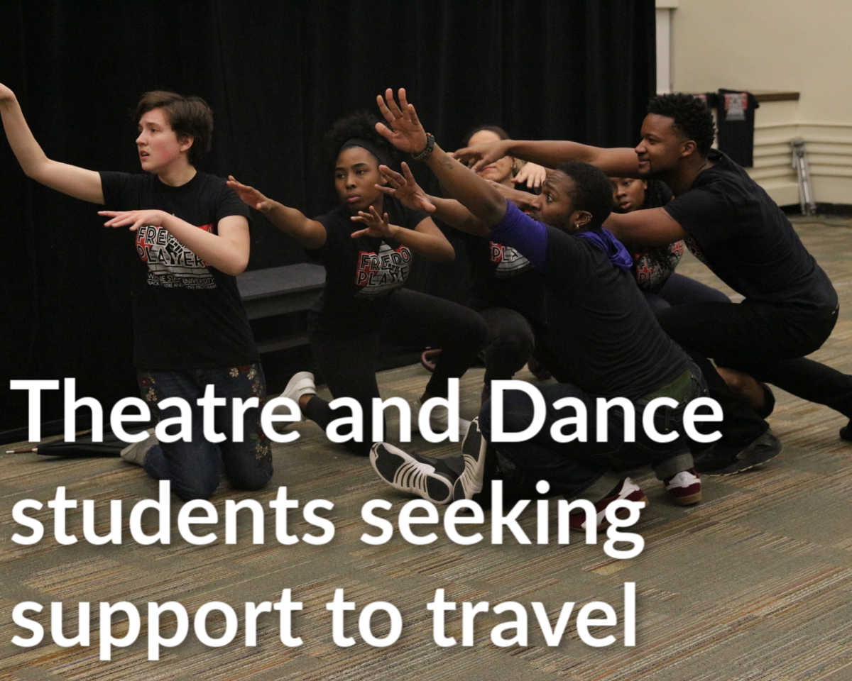 Theatre students seek financial support to study and perform abroad