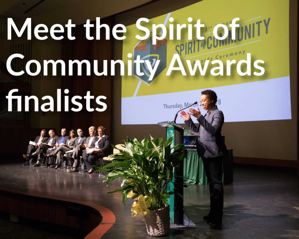 Finalists for Spirit of Community Award announced