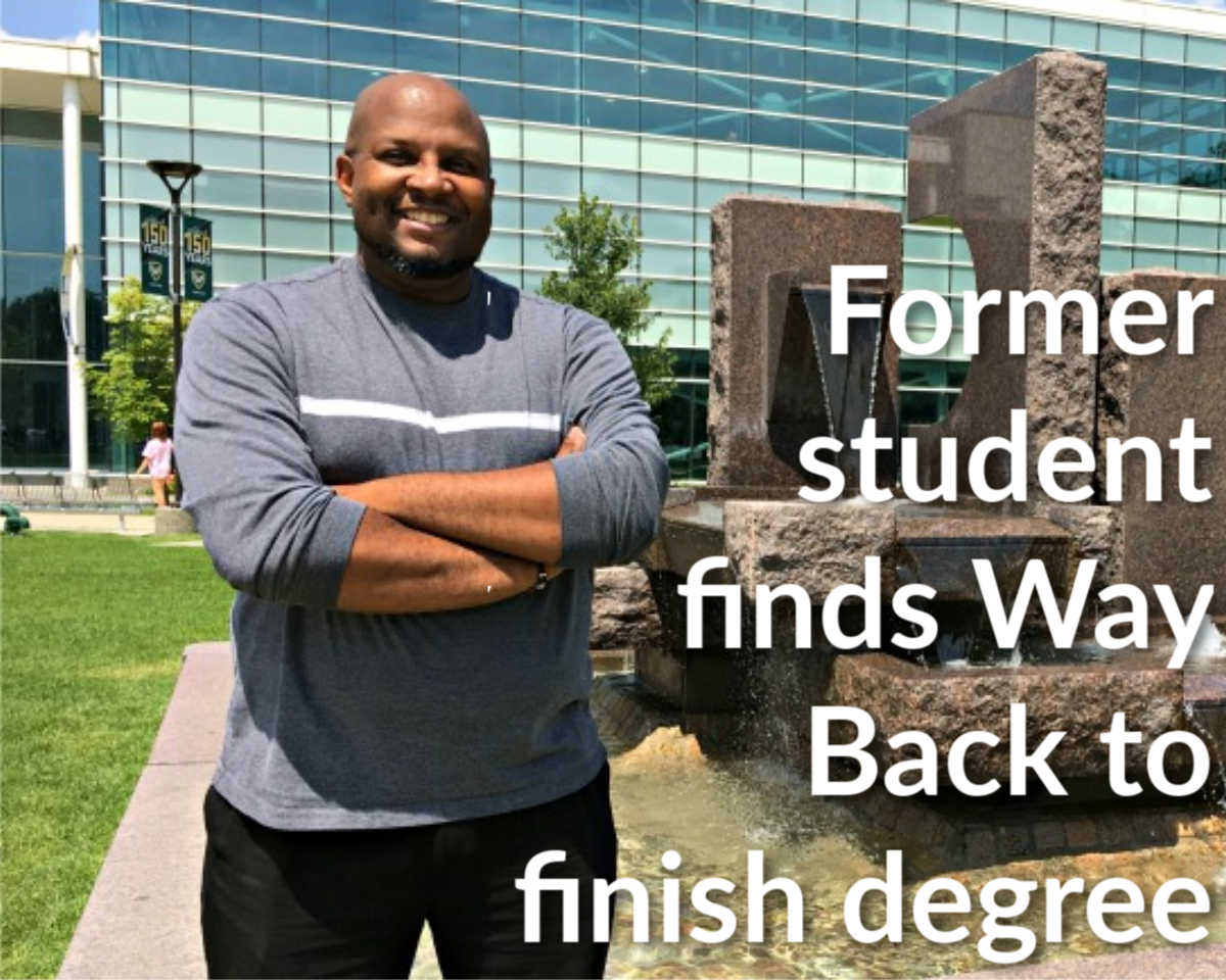 Former student finds Way Back to degree