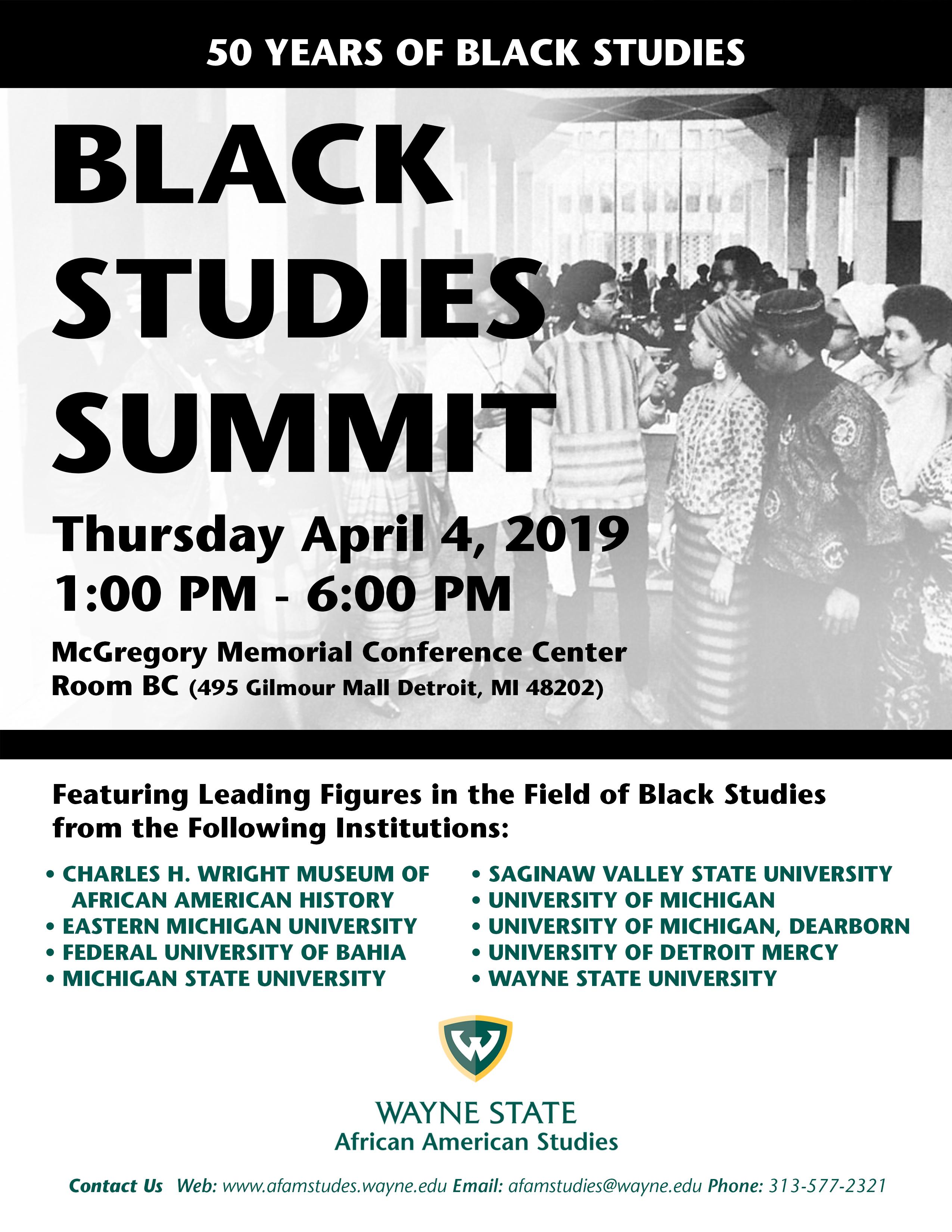 Black Studies Summit