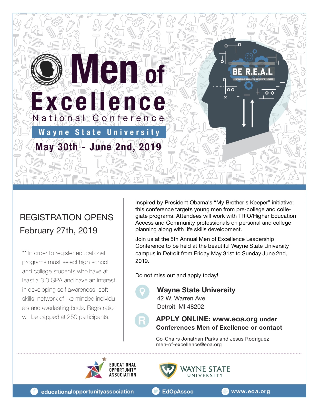 Fifth annual EOA Men of Excellence National Conference