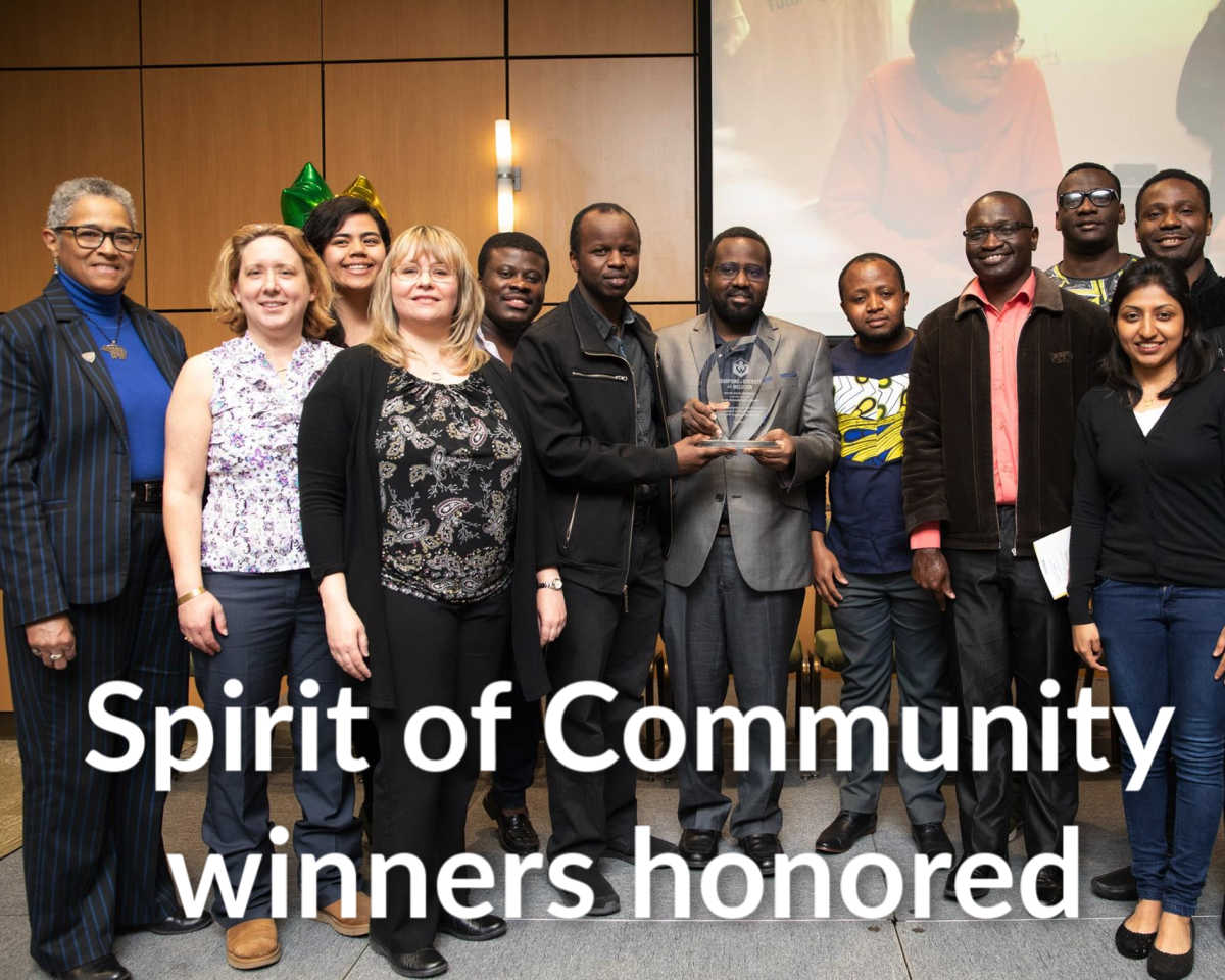 Spirit of Community Awards recap