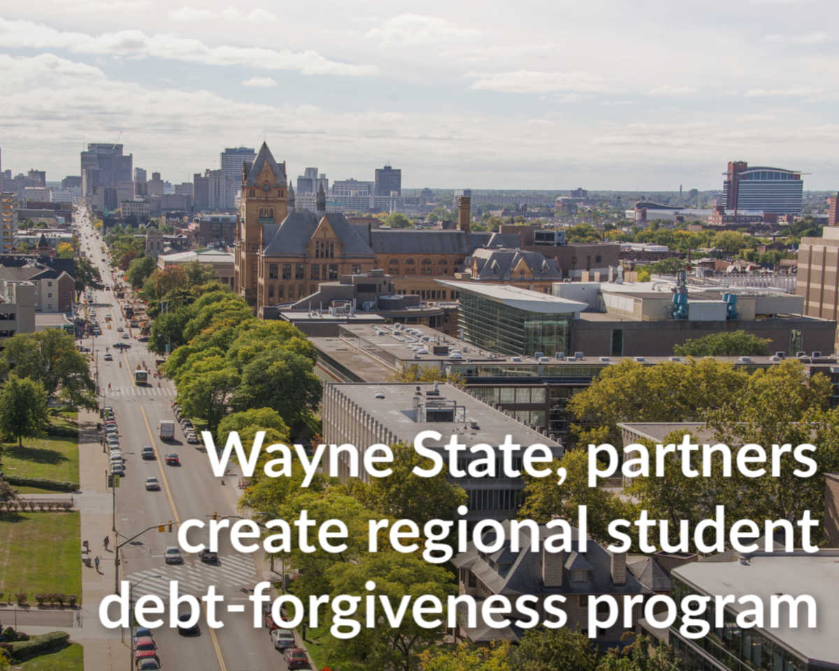 Debt-forgiveness announcement