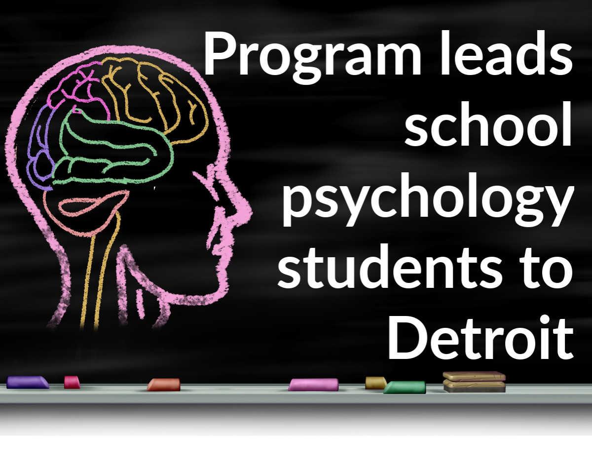 College of Education school psychologist graduate program
