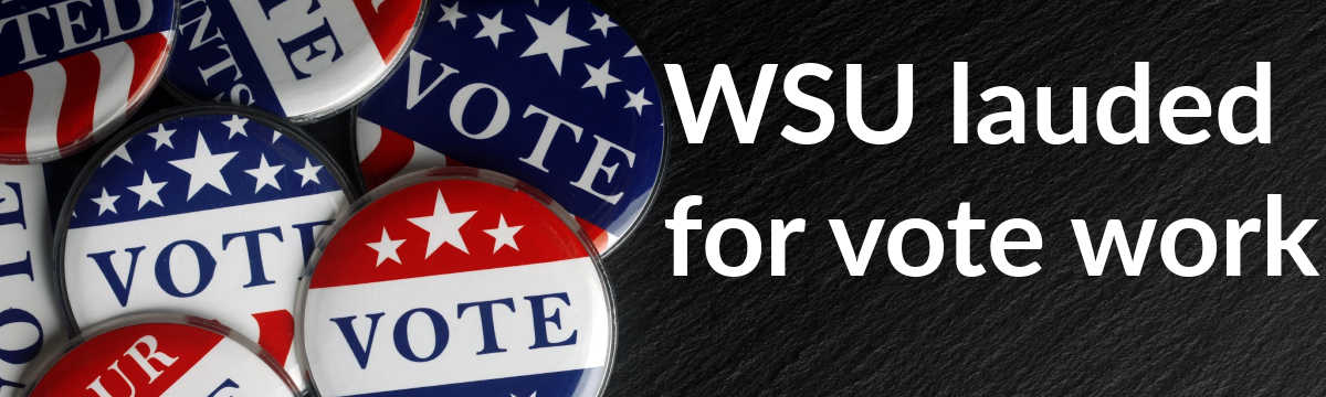 WSU named Voter Friendly Campus