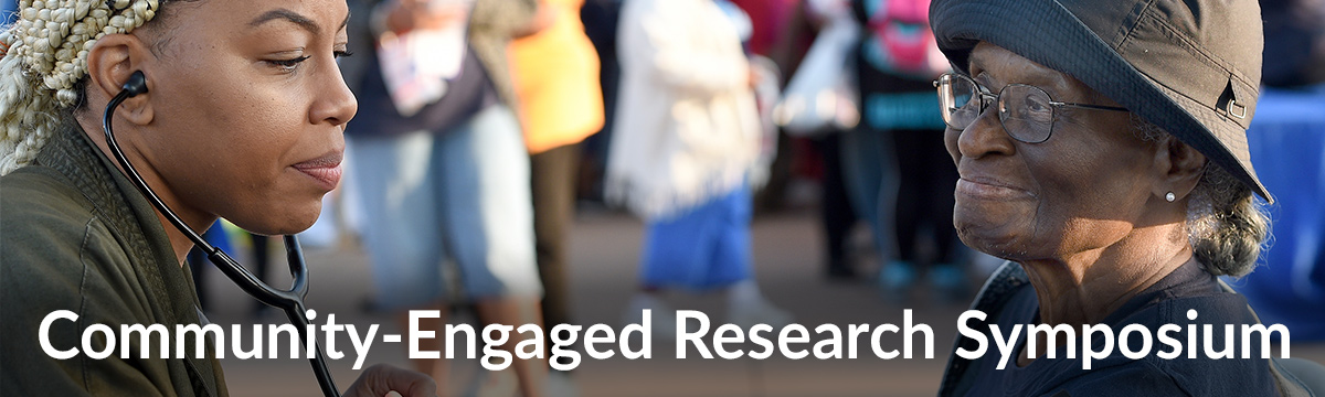 Community-engaged research symposium