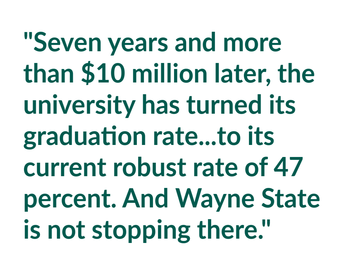 Chronicle of Higher Ed story