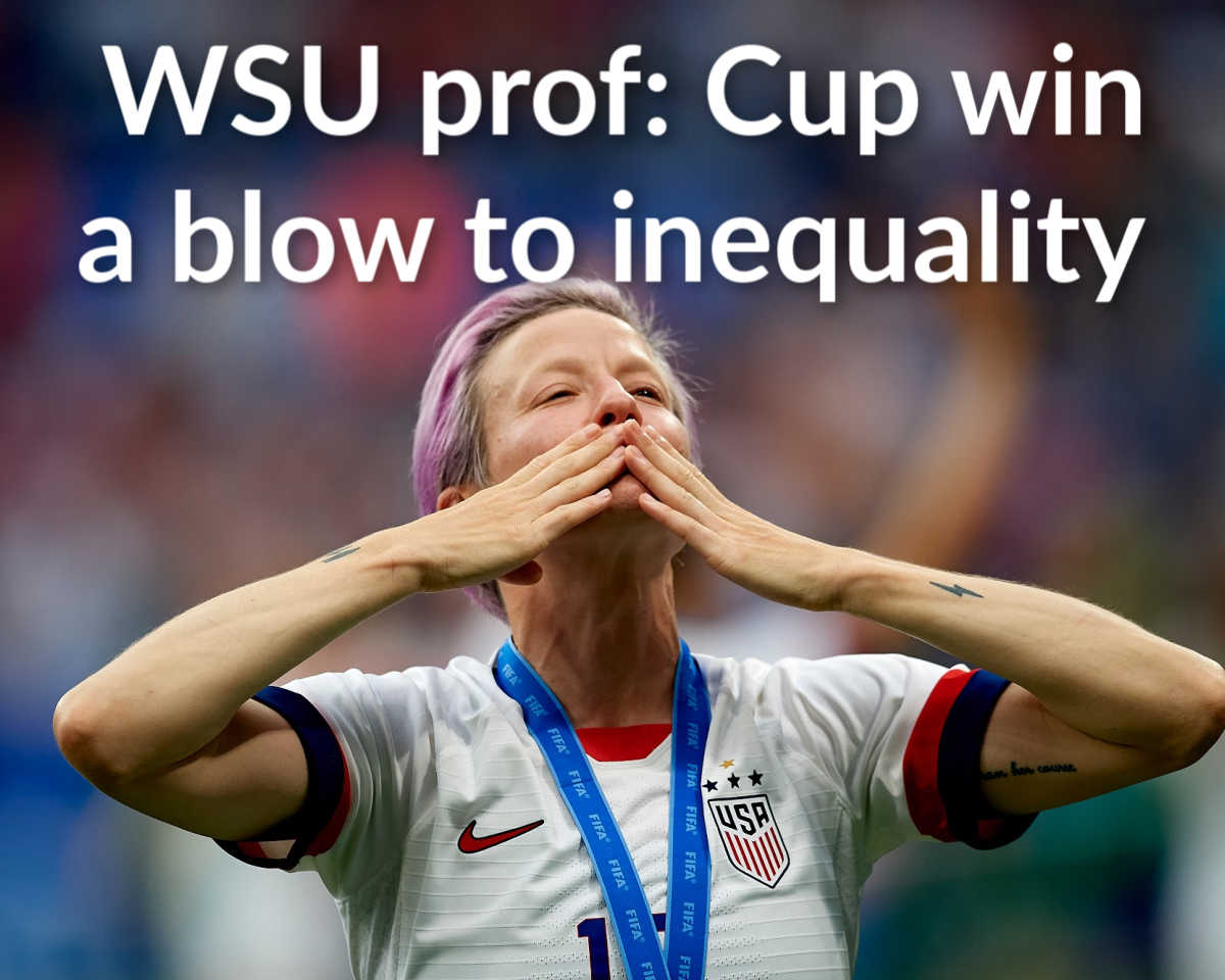 World Cup win a blow to inequality: WSU prof