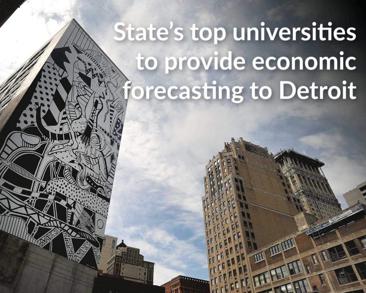 Detroit economic forecasting