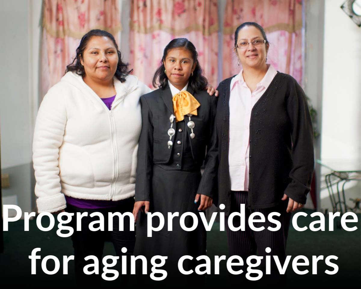Caring for caregivers: Program supports families assisting adults with neurodevelopmental disabilities