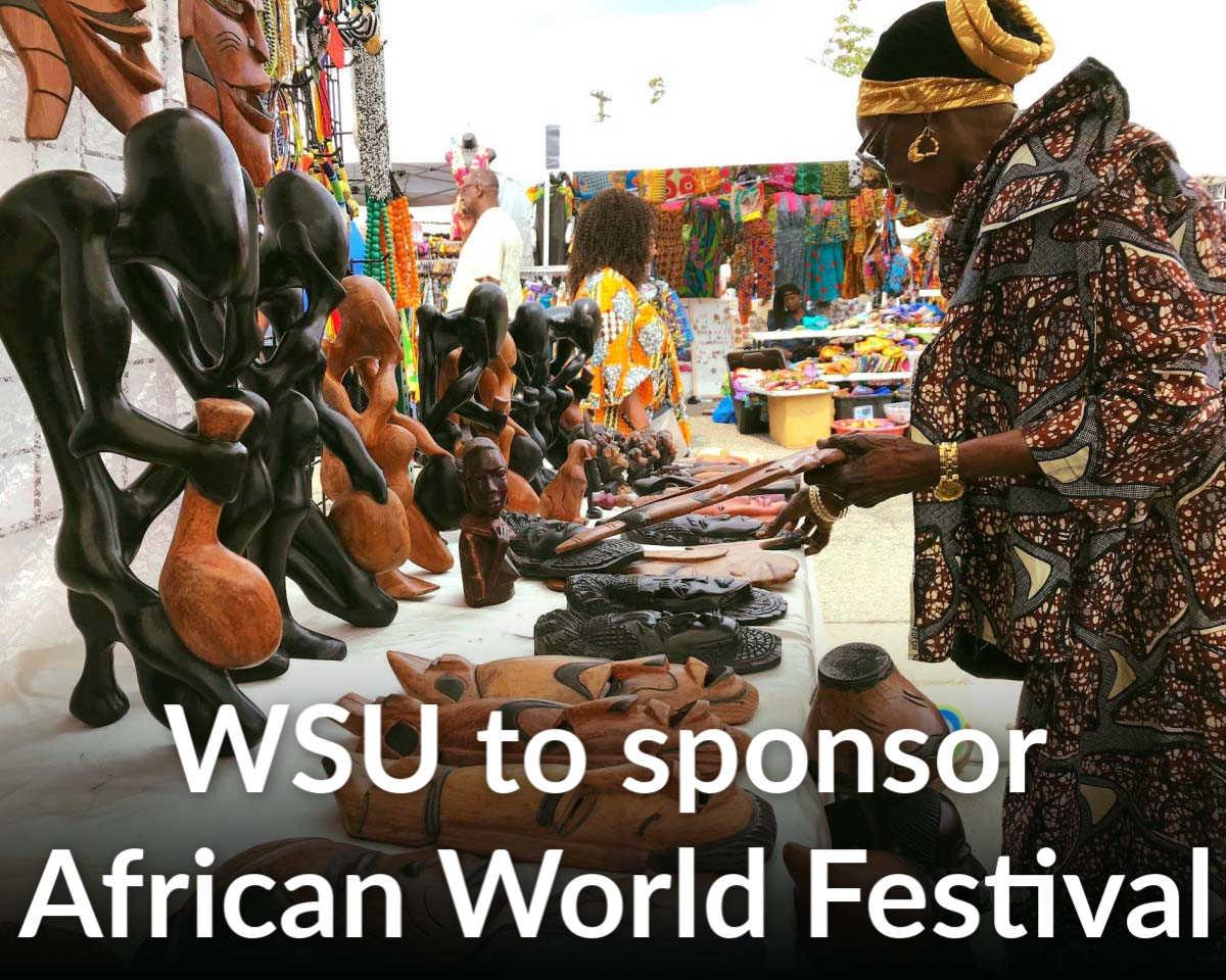 African World Festival sponsorship