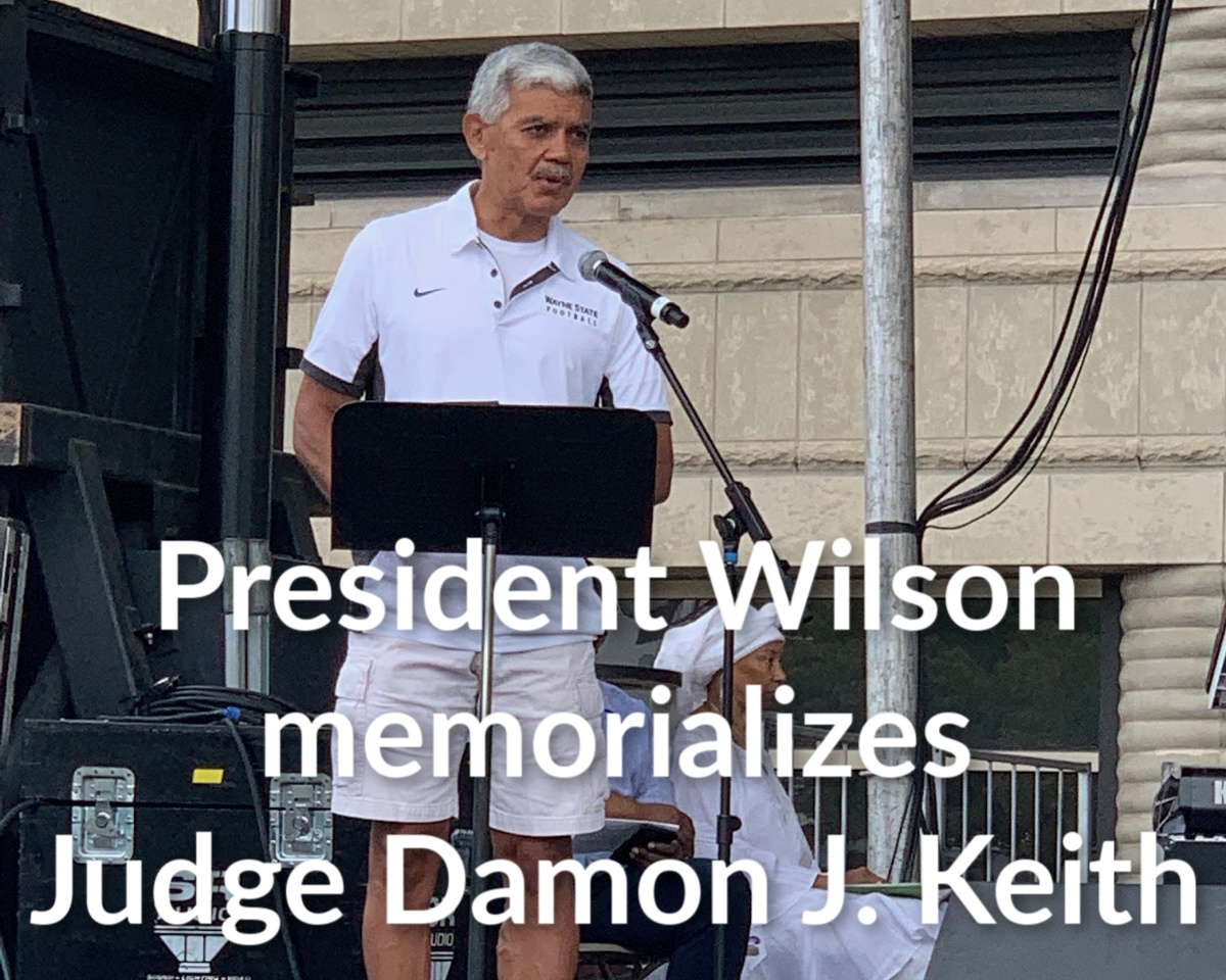 Wilson honors Damon Keith at AWF37