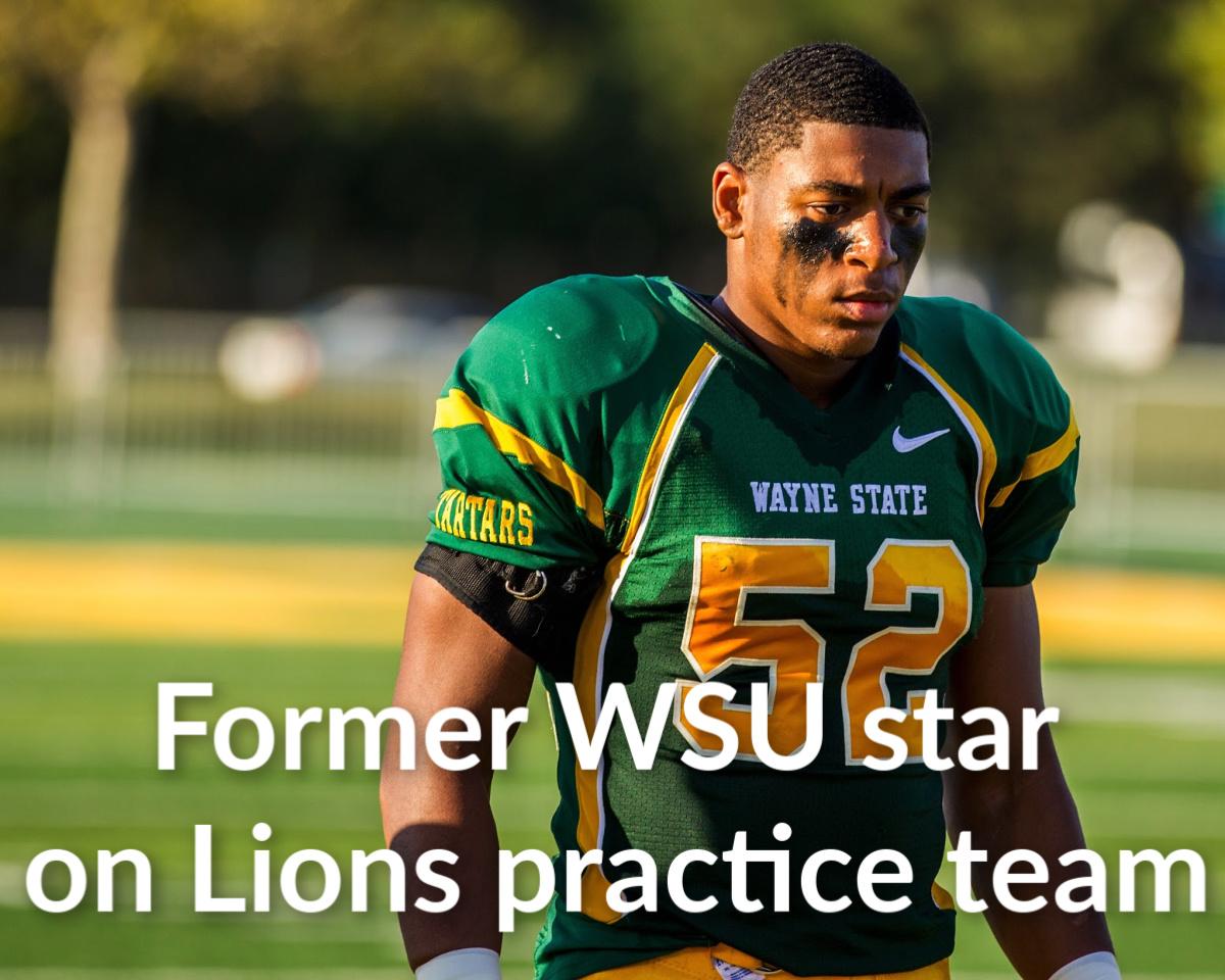 WSU linebacker, Birmingham native Anthony Pittman earns spot on Lions' practice squad
