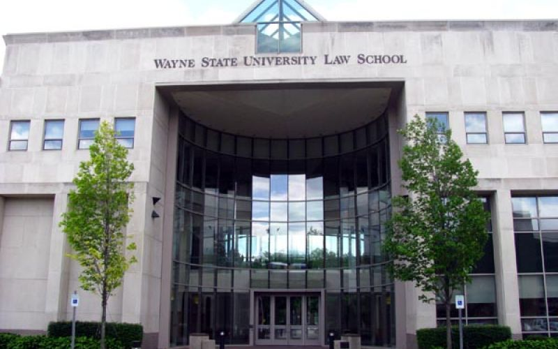 Wayne State University Law School tour