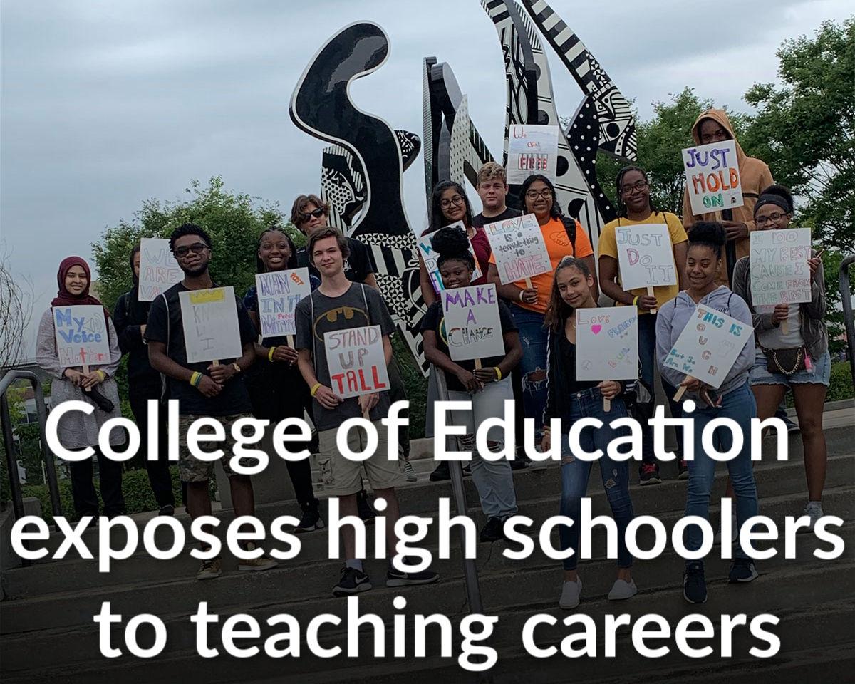 College of Education Next Gen Teachers program seeks to boost teacher diversity statewide