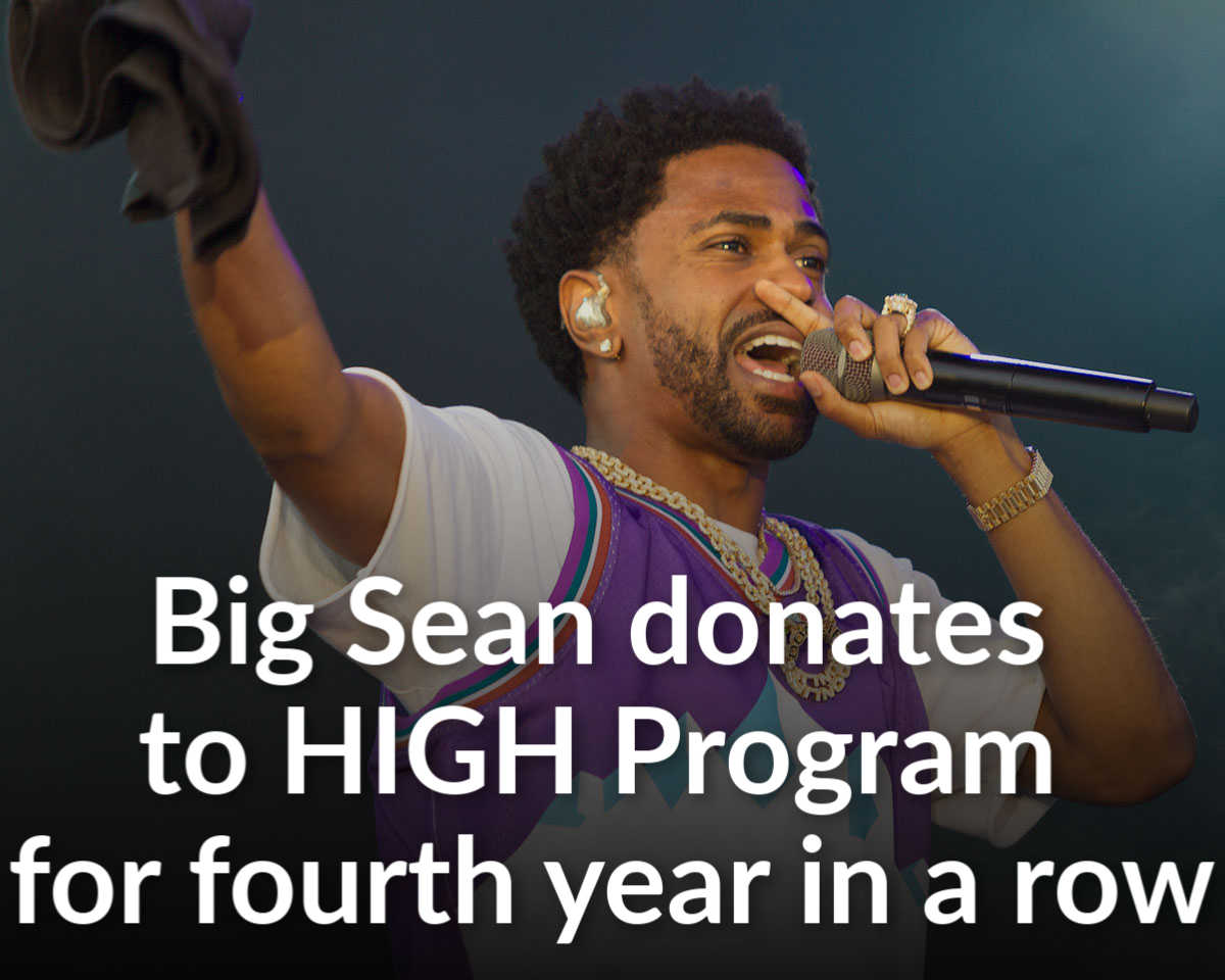 Big Sean gives to HIGH program for fourth straight year