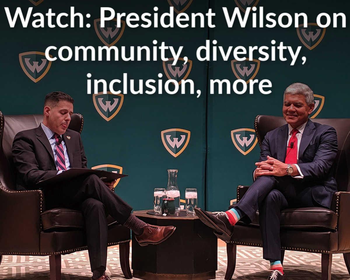 President Wilson address