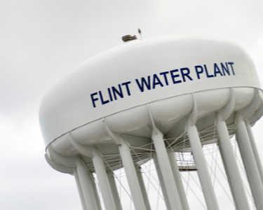 Flint water drive