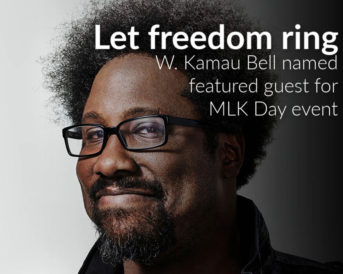 W. Kamau Bell named keynote speaker for MLK Day Celebration