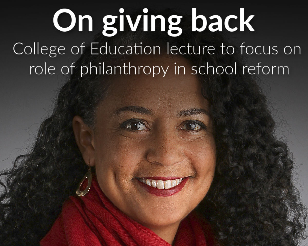 Second annual Distinguished Lecture in Urban Education