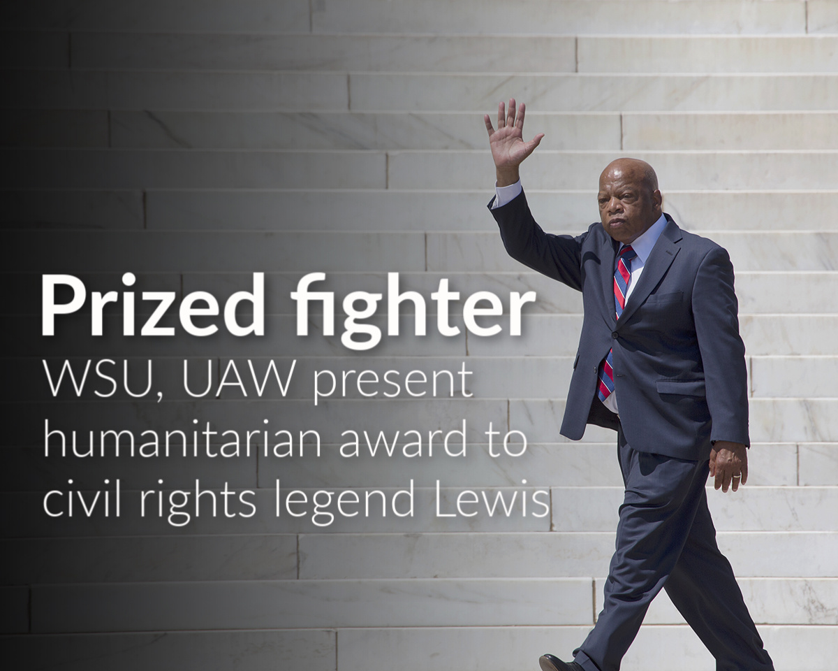Reuther Library honors civil rights warrior Rep. John Lewis