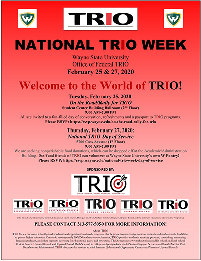 Engage with TRIO