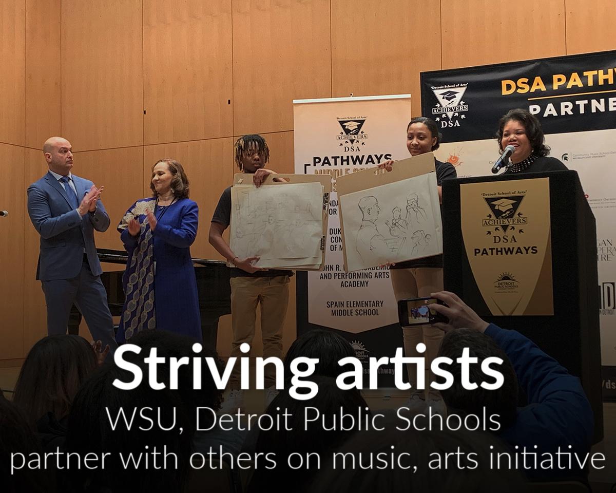 CFPCA among Detroit Public Schools Community District new expanded arts and music partnership