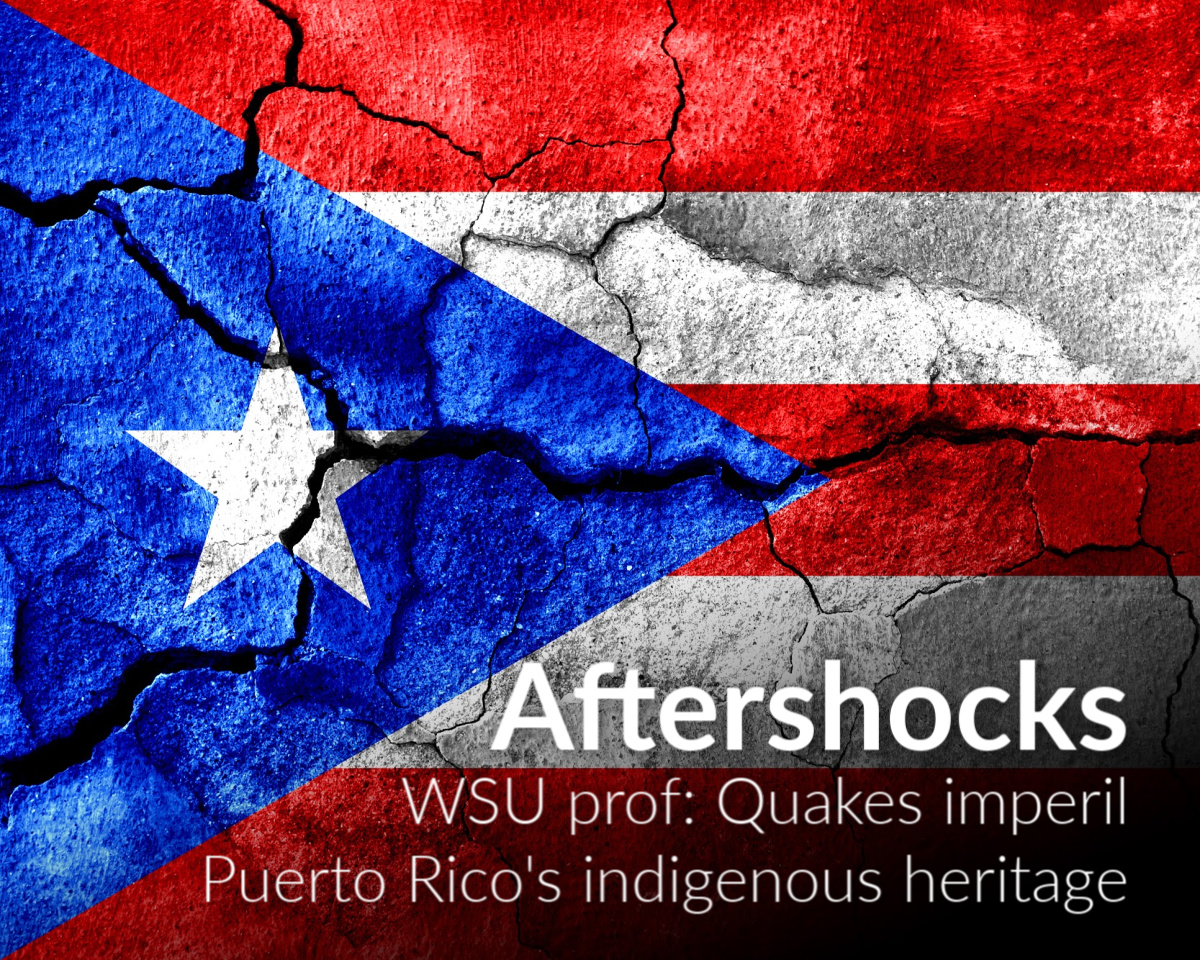Puerto Rico earthquakes imperil island's indigenous heritage
