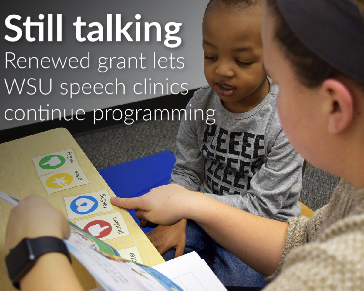 Speech and Language Clinics receive grant to continue vital community programming