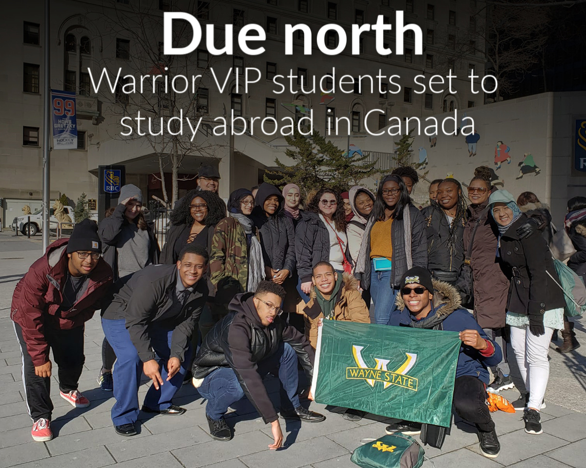 Warrior VIP students to study abroad in Canada