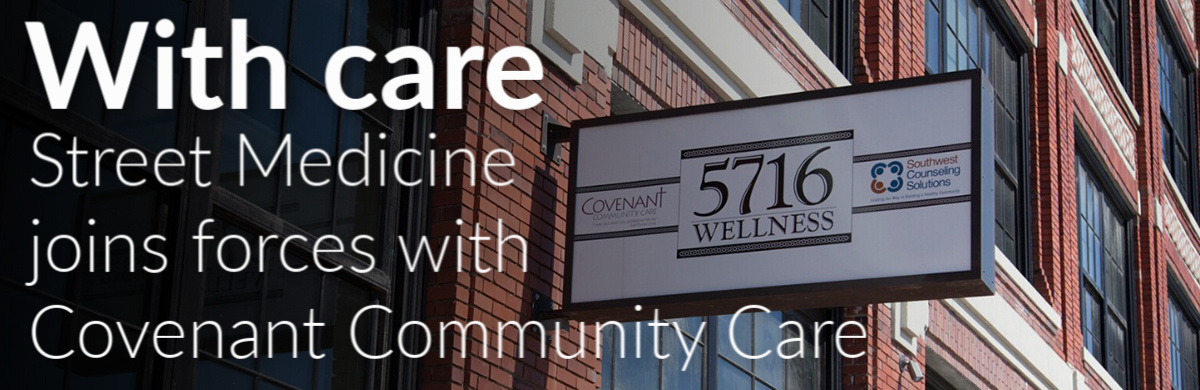 Covenant Community Care's Homeless Outreach Program, working with WSU SOM, brings compassion to Detroit streets
