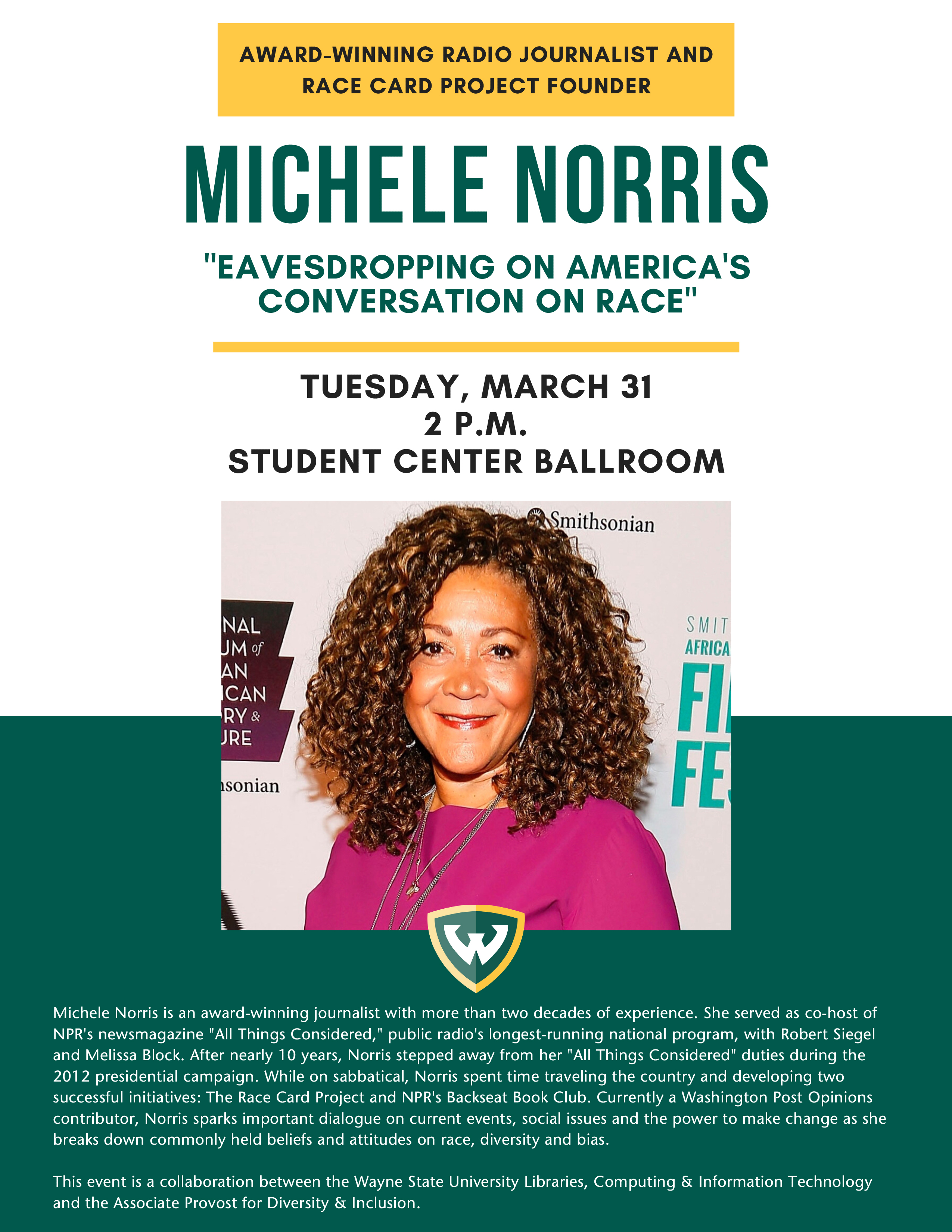 Michele Norris: Eavesdropping on America's Conversation on Race