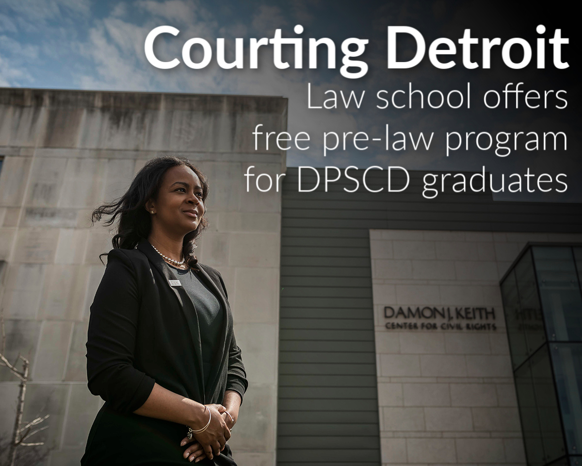 Wayne Law launches free pre-law summer institute for Detroiters