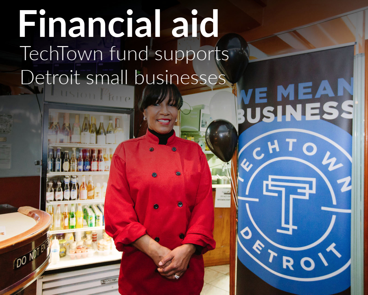 TechTown supports 350 Detroit small businesses
