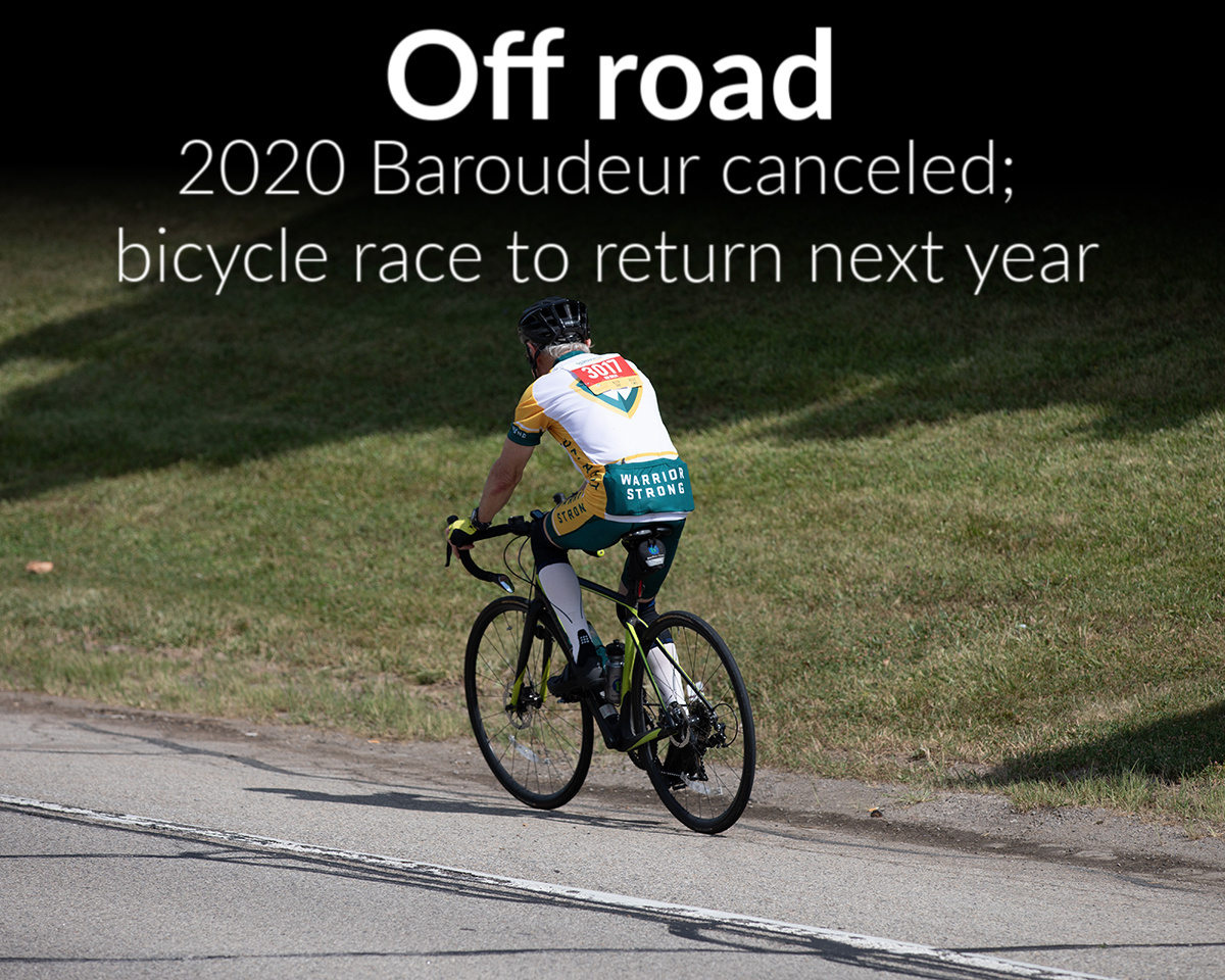 2020 Baroudeur canceled, will ride again in 2021