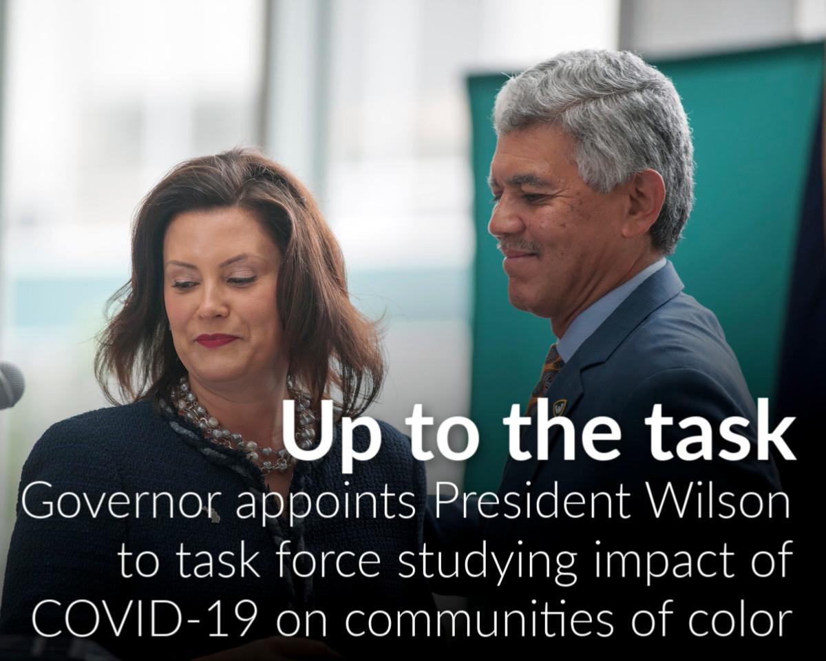 President Wilson named to governor's coronavirus task force