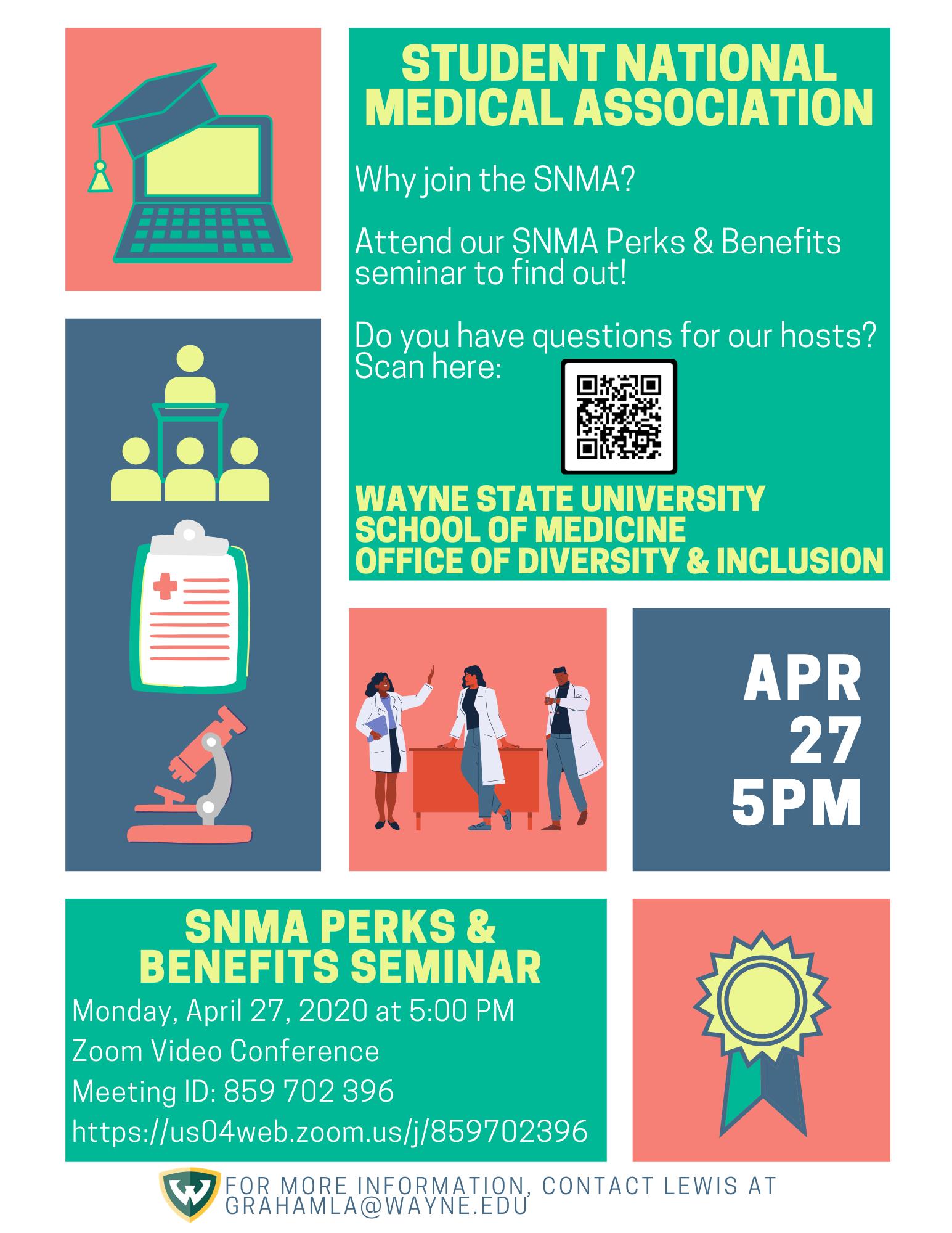 SNMA Perks and Benefits Seminar