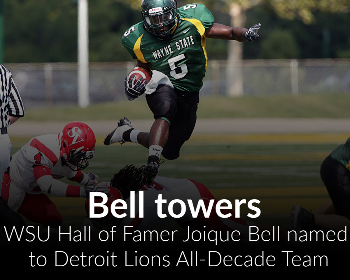 Former Warrior Joique Bell Selected to Lions All-Decade Team