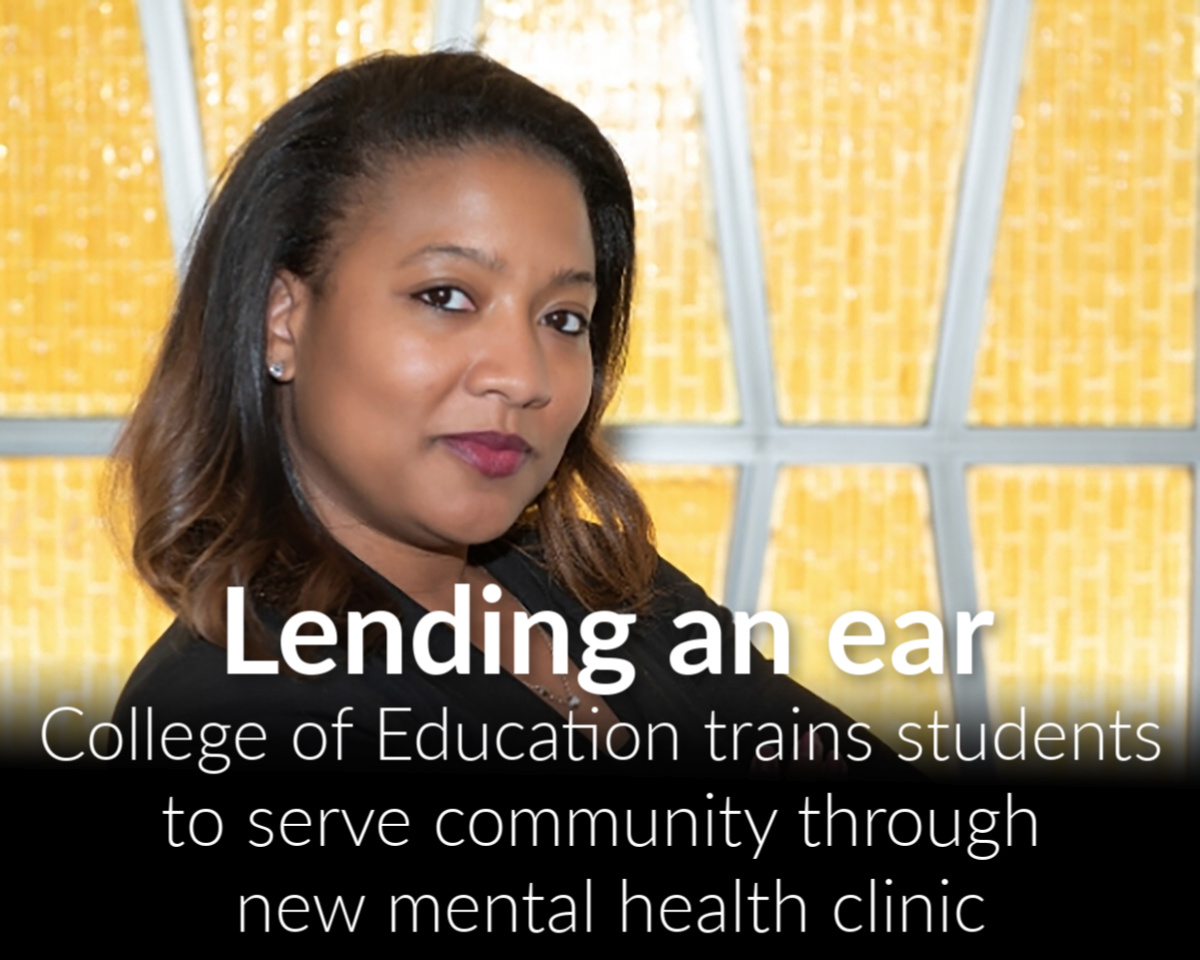 College launches clinic and chat to help meet demand for mental health services