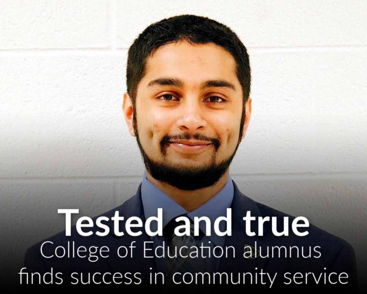 Alumnus believes community service is prescription for success